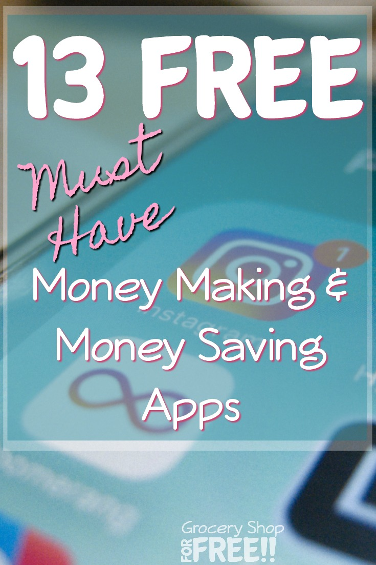 13 free must have money saving apps want to save and make money when you shop check out these 13 free must fandeluxe Gallery