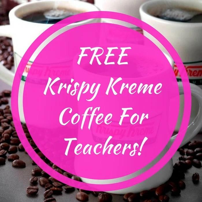 FREE Krispy Kreme Coffee With Purchase!