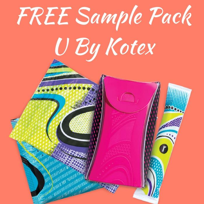 FREE Sample Pack U By Kotex!