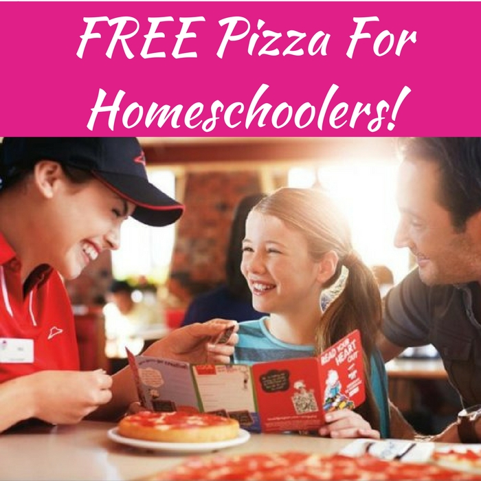 FREE Pizza For Homeschoolers!