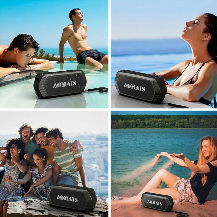 Waterproof Bluetooth Speaker With Inflatable Raft Just $39.99! Down From $100! PLUS FREE Shipping!