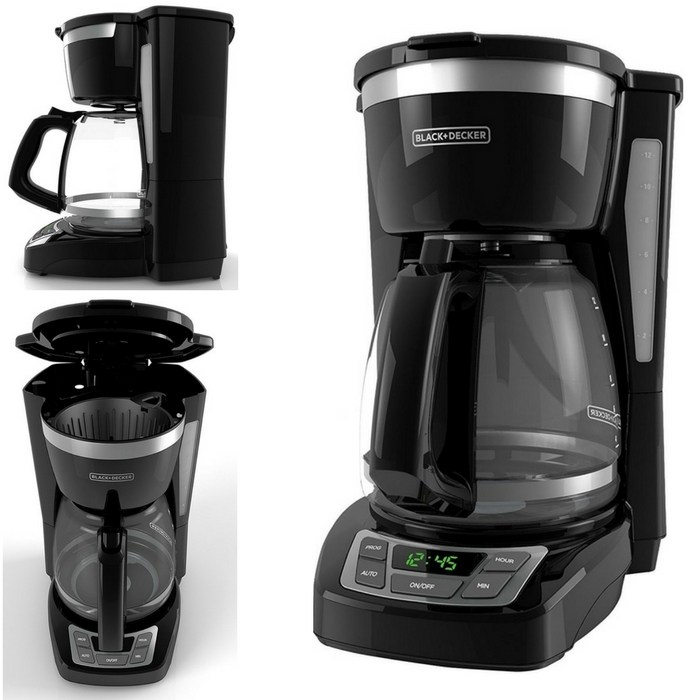 Black+Decker 12 Cup Coffee Maker Just 17.99! Down From $30!