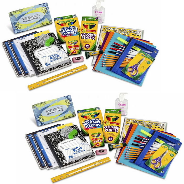 Third Through Fifth Grade Classroom Supply Pack Just $23.99! Down From $30!