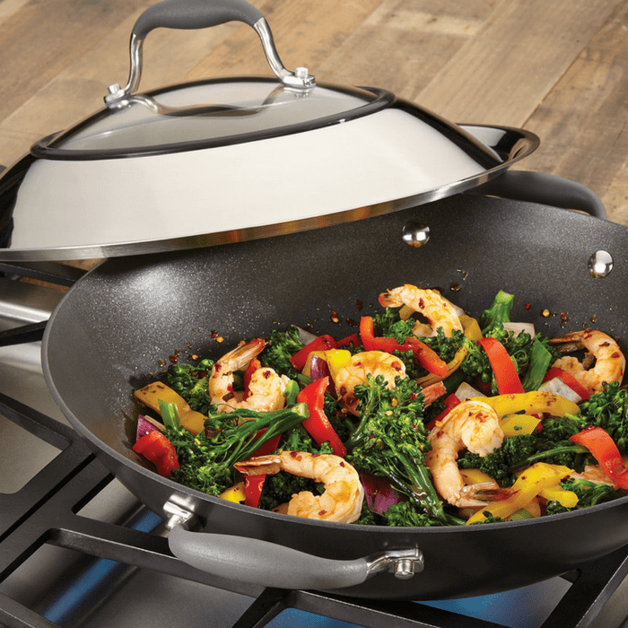 Anolon Advanced Nonstick 14″ Covered Wok Just $29.99! Down From $100!