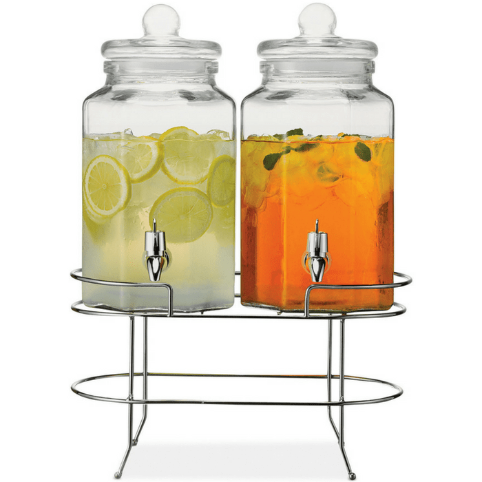 Double Beverage Dispenser With Stand Just $28.89! Down From $58!