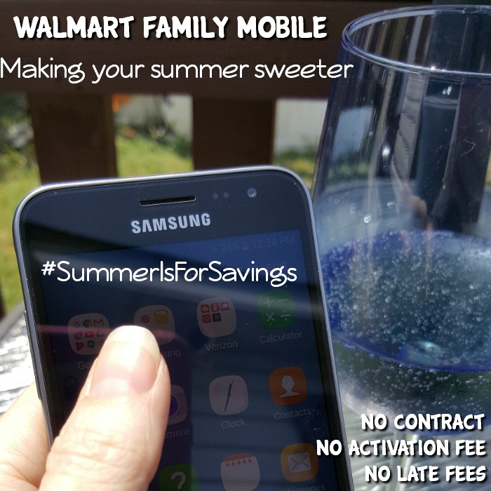 Summer Is For Savings With Walmart Family Mobile
