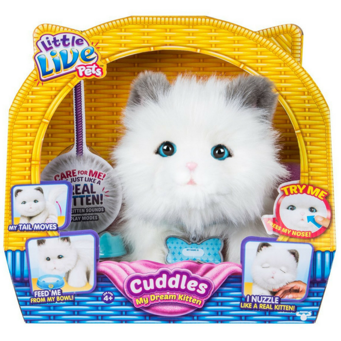 Little Live Pets Cuddles My Dream Kitten Just $44.82! Down From $55! PLUS FREE Shipping!