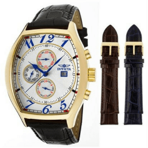 Invicta Men's 18K Yellow Gold-Plated Watch Just $42.78! Down From $64! PLUS FREE Shipping!
