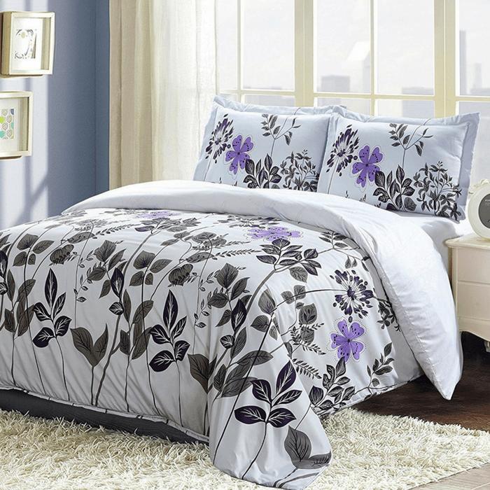 Floral Design Duvet Cover Set Just $18.99! Down From $60!