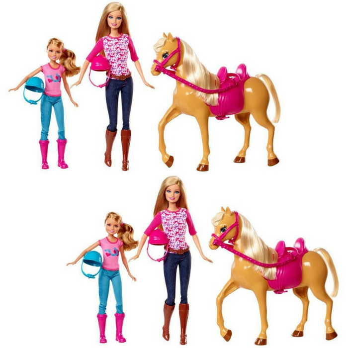 Barbie Pink-Tastic Horse & Dolls Just $21.24! Down From $50!