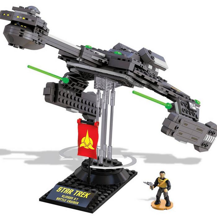 Mega Bloks Star Trek Battle Cruiser Construction Set Just $16.99! Down From $40! PLUS FREE Shipping!