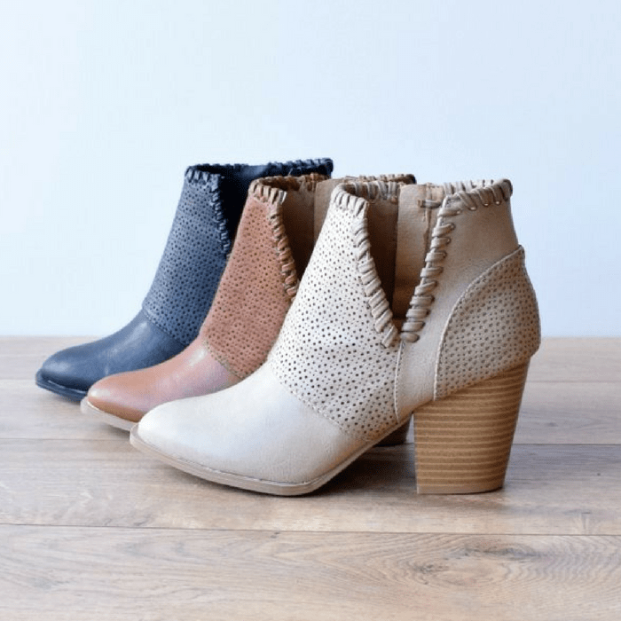 Detailed Ankle Bootie Just $28.99! Down From $47!