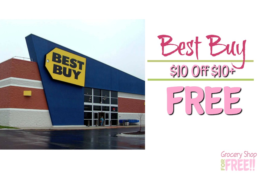 FREE $10 Credit At Best Buy When You Spend $10+!
