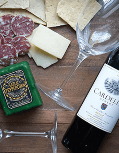 Monthly Wine And Cheese Gift Subscription Deal!