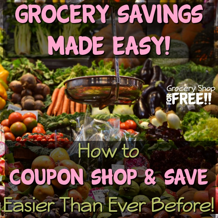 Grocery Savings Made Easy!  There are so many new ways to save now than just coupons.  Let's explore them all & make the most of our money at the grocery store!