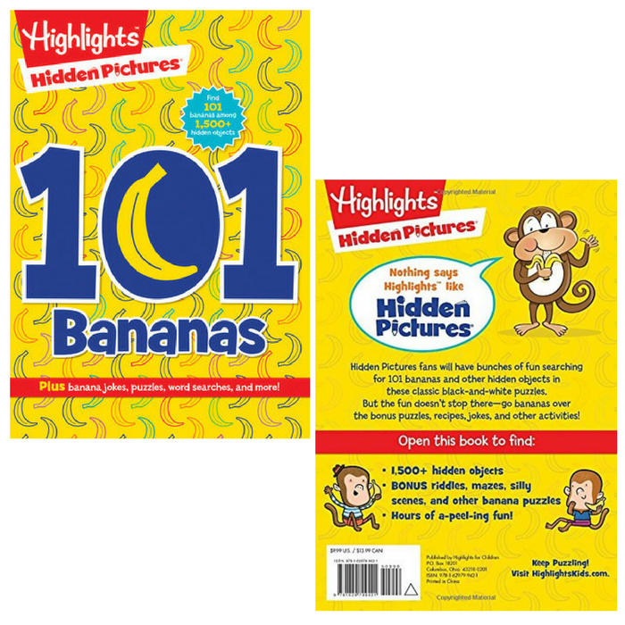 Highlight's 101 Bananas  #Highlights #highlightsforchildren #HiddenPictures