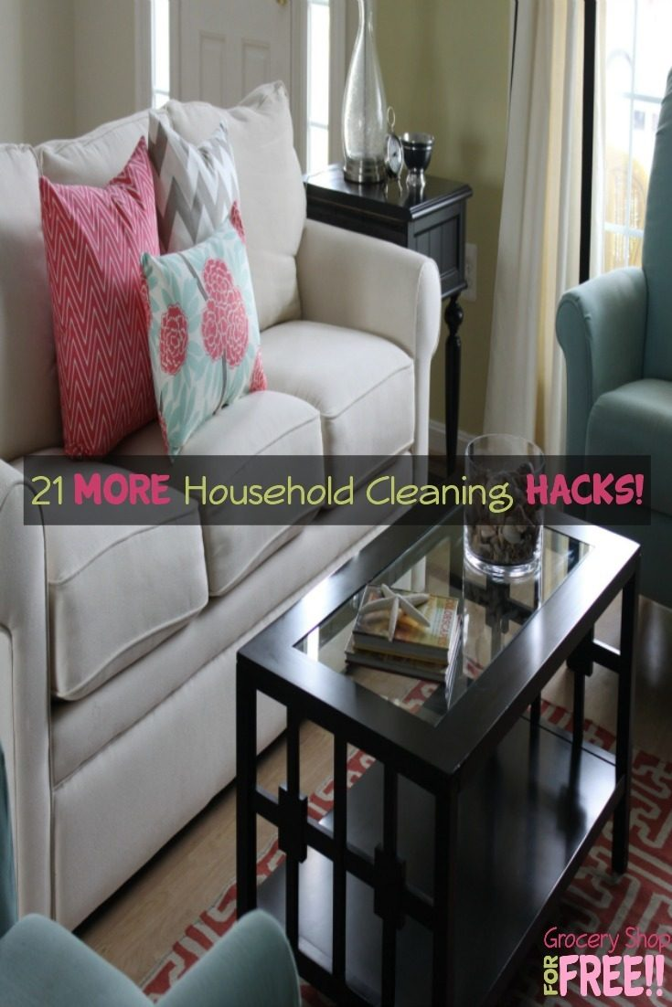 21 more household cleaning hacks for Household hacks