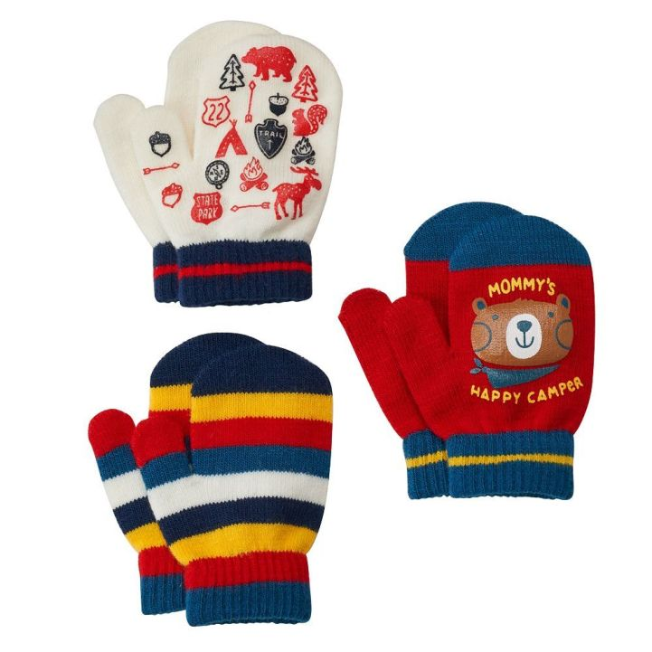 Jumping Beans Toddler 3-pk. Mittens Only $2.24 Down From $10.00 At Kohl's!