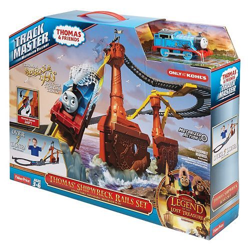 Fisher-Price Thomas & Friends TrackMaster Shipwreck Rail Set As Low As $22.39 At Kohl's!