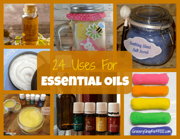 24 uses For Essential Oils