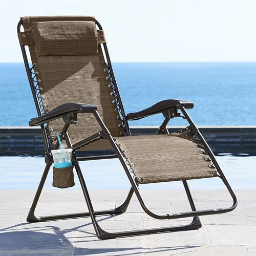 SONOMA Goods for Life Patio Antigravity Chair Only $41.99! Down From Up To $139.99!