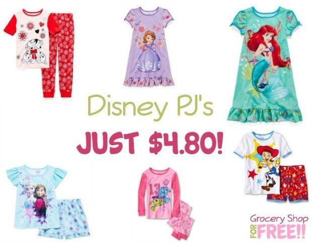 Disney PJ's Just $4.80!