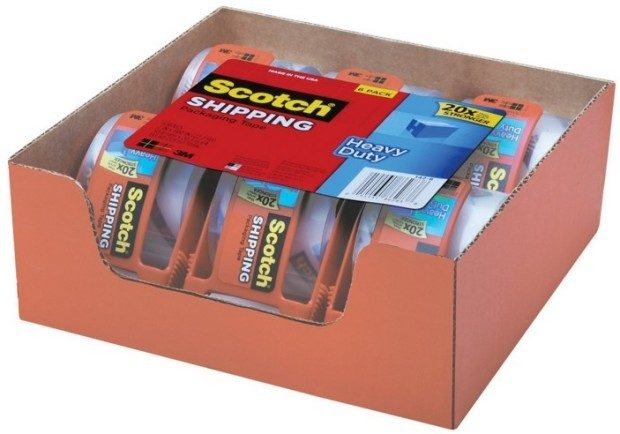 Scotch Heavy Duty Packaging Tape With Dispenser Just $1.27 Each!  PLUS FREE Shipping!