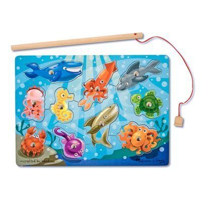 Melissa & Doug Deluxe 10-Piece Magnetic Fishing Game Only $6.99 (Reg. $9.99)!