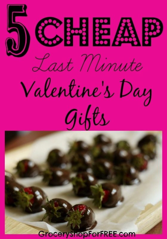 5 CHEAP Last Minute Valentine's Day Gifts!