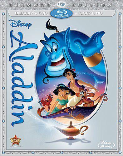 Aladdin: Diamond Edition Blu-ray Only $19.99 (Reg. $39.99)!