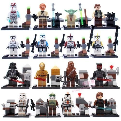 16 Pc Set Star Wars Collection (Compatible With LEGO) Only $12.68 With FREE Shipping (Reg. $41.63)!