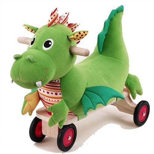 WONDERWORLD Puffy Dragon Ride-on Only $27.72 (Reg. $149.99)!