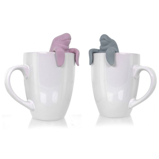 Wishstone Mr and Mrs Manatea Tea Infuser Gift Set Of 2 Only $11.95 (Reg. $24.99)!