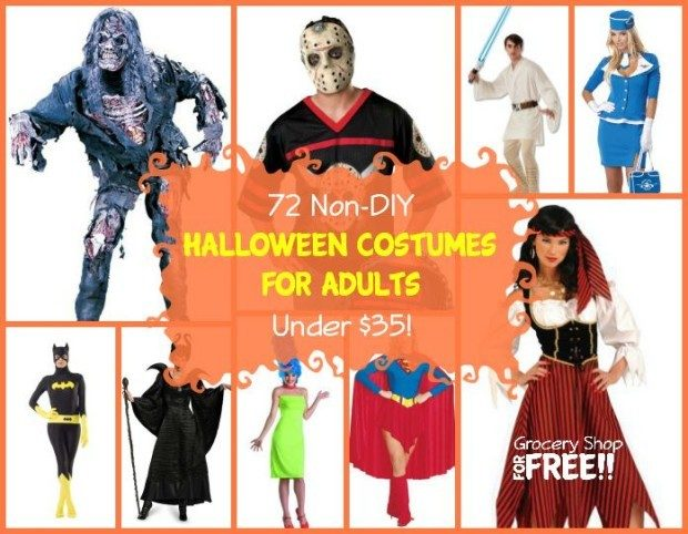 72 Non-DIY Halloween Costumes For Adults Under $35!