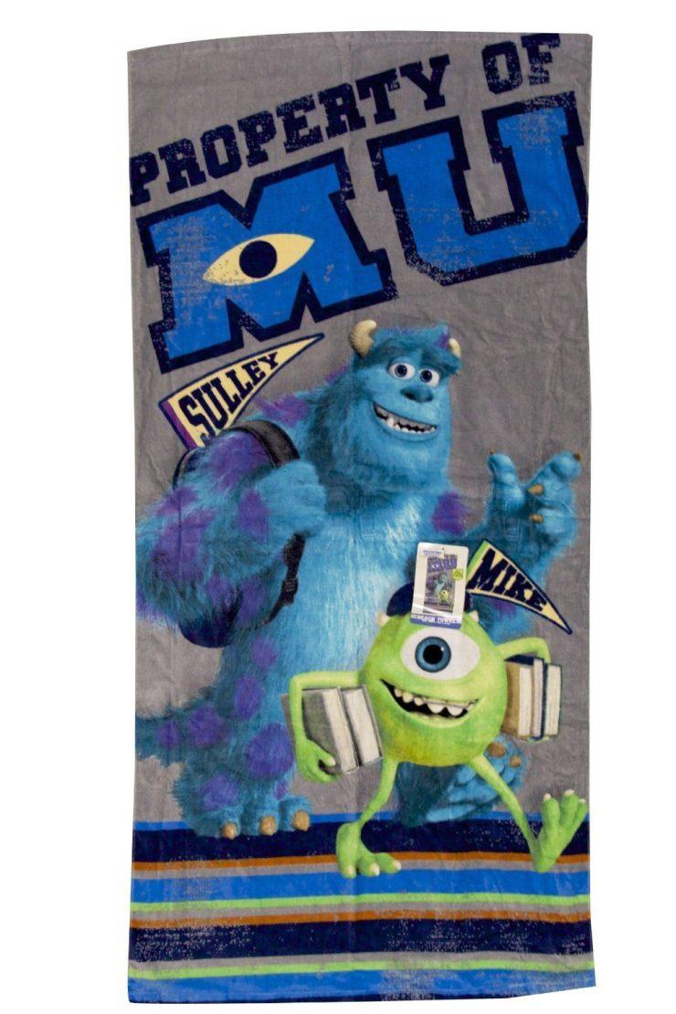 "Disney Monsters University Back to School Beach Towel - 28"" X 58"" Only $7.21 (Reg. $16)!"