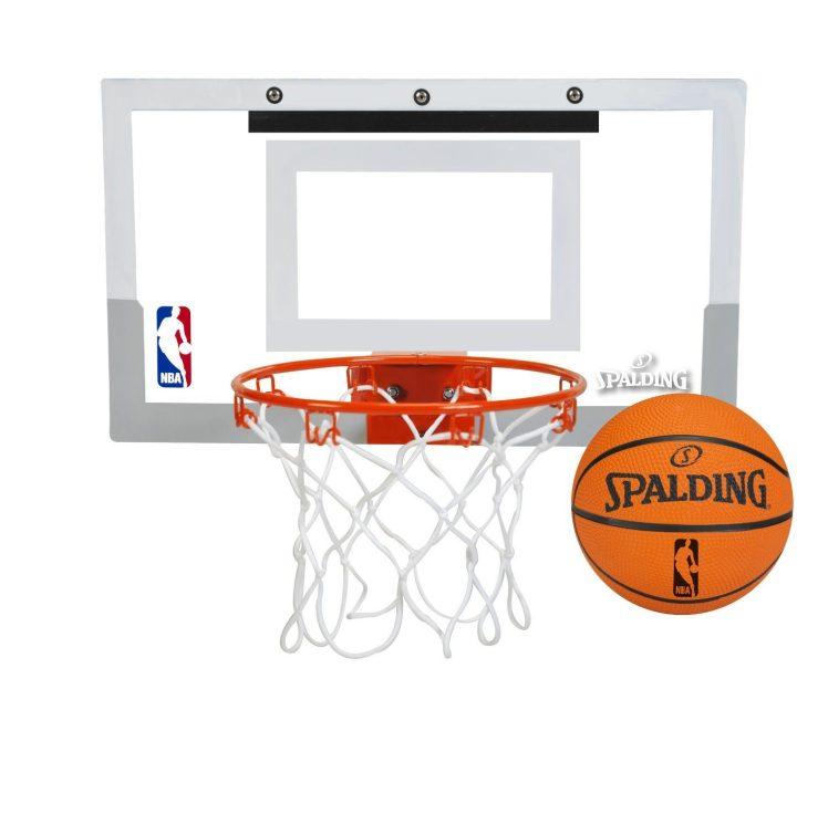 Spalding NBA Slam Jam Over-The-Door Mini Basketball Hoop Only $21.98 (Reg $39.99)!