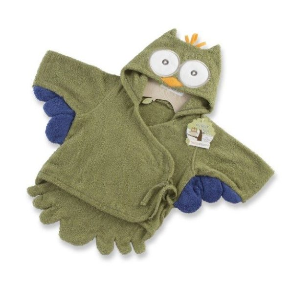 Baby Aspen, My Little Night Owl Hooded Terry Spa Robe Only $20.02 (Reg. $32.99)!