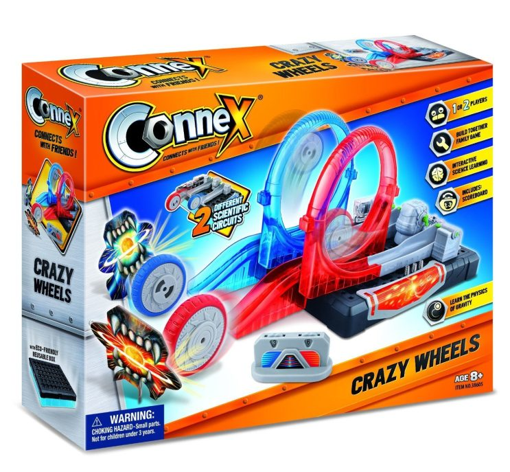 Amazing Toys Connex Crazy Wheels Interactive Science Learning Kit Only $11.63 (Reg. $29.99)!
