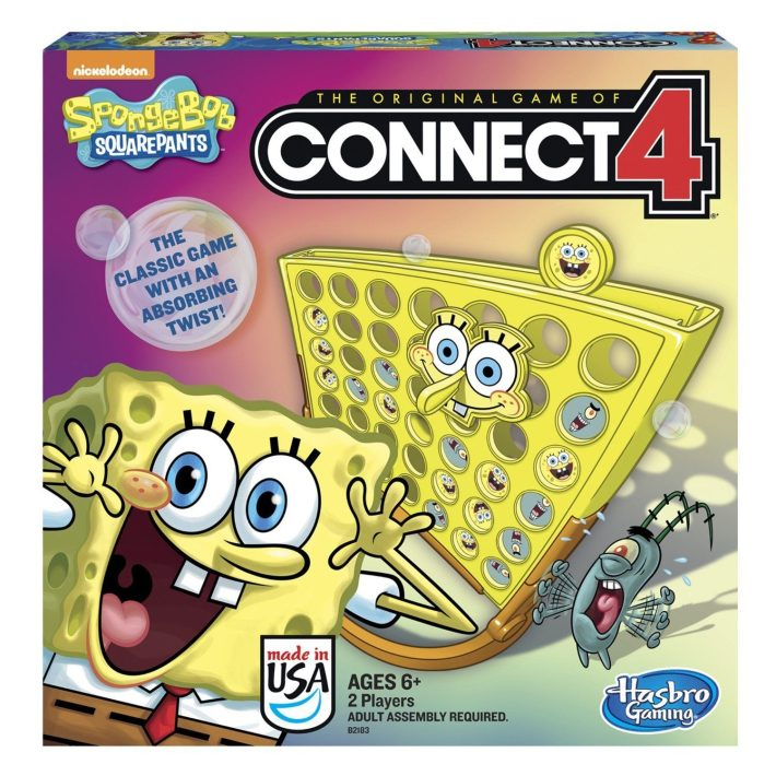 SpongeBob SquarePants Connect 4 Game Only $5.03 (Reg. $16.99)!