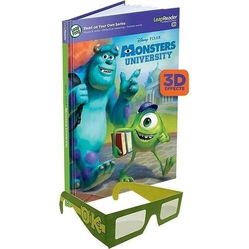 LeapFrog Disney/Pixar Monsters University 3D Book Just $5.99 At Best Buy!