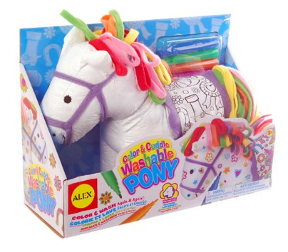 ALEX Toys Craft Color & Cuddle Pony Soft Toy Just $11 Down From $18.50!