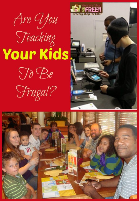 Are You Teaching Your Kids To Be Frugal?