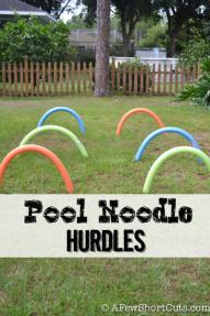 Pool Noodle Hurdles