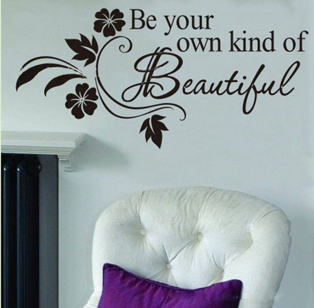 Be Your Own Kind of Beautiful Wall Decal $1.97 Shipped!
