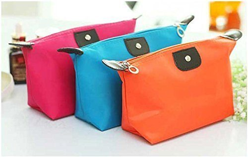 Bright Colored Makeup Bags Only $2.75 + FREE Shipping!