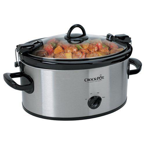 Crock-Pot 6-Quart Slow Cooker Only $24! (Lowest Price)