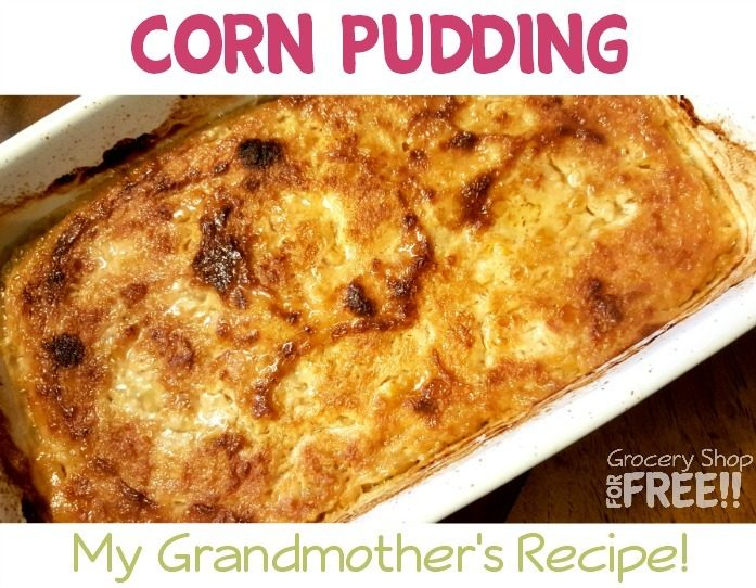 Corn Pudding Recipe!