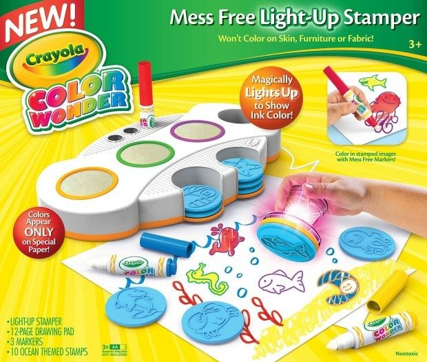 Today Only - Crayola Color Wonder Light Up Stamper Just $14.99!