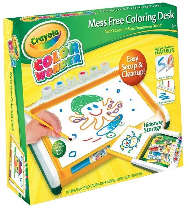 Crayola Color Wonder Mess Free Coloring Desk Just $13.99!
