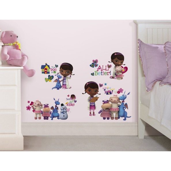 Doc McStuffins Peel and Stick Wall Decals $6.59 + FREE Shipping with Prime!